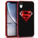 Funda de silicona con print Superman de Cool para iPhone XR