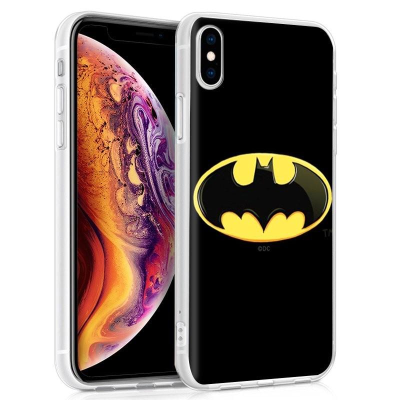 Capa de silicone com print Batman de Cool para iPhone XS Max
