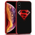 Funda de silicona con print Superman de Cool para iPhone XS Max