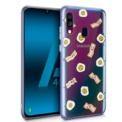 Capa de silicone com print Clear Bacon de Cool para Samsung Galaxy A40