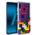 Funda de silicona con print Clear Game de Cool para Samsung Galaxy A40