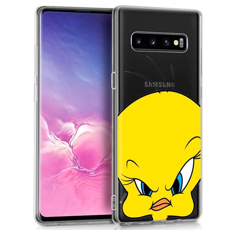 Funda de silicona con print Piolín de Cool para Samsung Galaxy S10