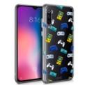 Funda de silicona con print Consolas de Cool para Xiaomi Mi 9