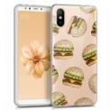 Cool Case Xiaomi Mi A2 Clear Burger