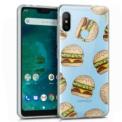 Capa de silicone com print Clear Burger de Cool para Xiaomi Mi A2 Lite