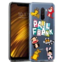 Funda de silicona con print Paul Franks Animals de Cool para Pocophone F1