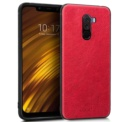 Cool Case Xiaomi Pocophone F1 Red Leather