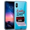 Funda de silicona con print Clear Every Day de Cool para Xiaomi Redmi Note 6 Pro