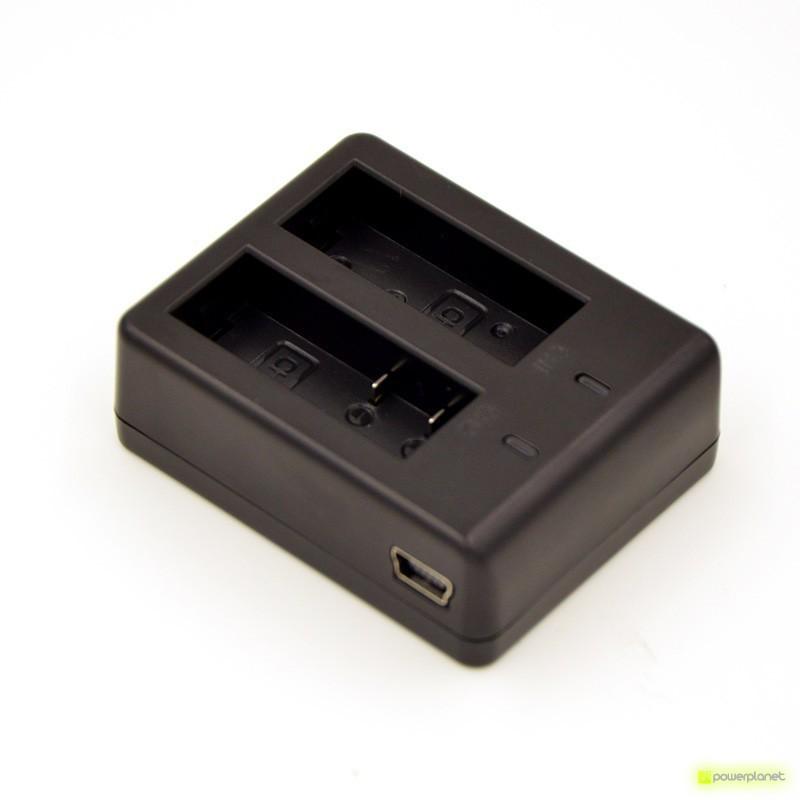 Carregador de bateria duplo para SJ4000/SJ5000/GitUp/GitUp2/GitUp2P