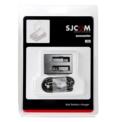 Cargador de Batería Dual SJCAM M20 - Cargar 2 Baterías de Forma Simultánea - Cargador Exclusivamente Compatible con BateríasSJCAM M20