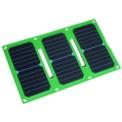 Cargador Solar Beewa 21W 5V/4.2A 2 USB BW-S21W