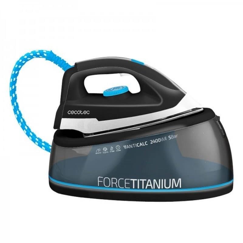 Ferro de engomar com Caldeira Cecotec Force Titanium 5000 Smart 2400W