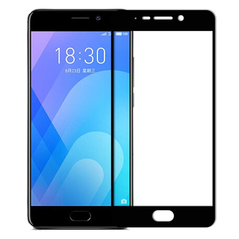 Full Screen Tempered Glass Protector for Meizu M6 Note