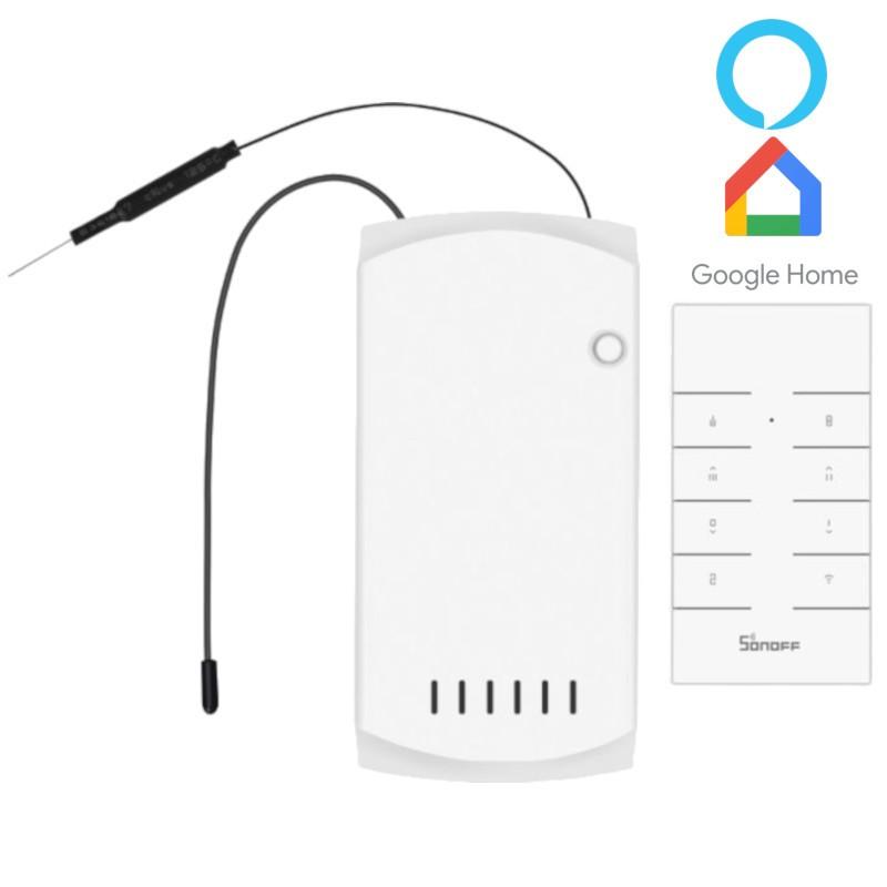 Controlador de Ventilador Inteligente Sonoff IFan03 WiFi + RF 433MHz