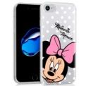 Capa de silicone com print Minnie de Cool para iPhone 8