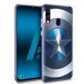 Funda de silicona con print Capitán América de Cool para Samsung Galaxy A40