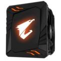 Cooler CPU Gigabyte ATC700 - Color negro, iluminación RGB (logo)