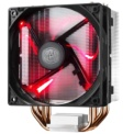 Cooler CPU Hyper 212 LED - color negro, iluminación LED de color rojo. Sockets compatibles: Socket AM2, Socket AM3, Socket AM3, Socket AM3+, Socket FM1, Socket FM2, Socket FM2+, LGA 1151 (Socket H4), LGA 2011-v3 (Socket R)