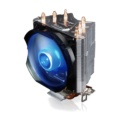 Cooler CPU Zalman CNPS7X LED+ - Negro, iluminación LED de color azul. Sockets compatibles: Socket AM2, Socket AM3, Socket AM3+, Socket FM1, Socket FM2, LGA 1151 (Socket H4)