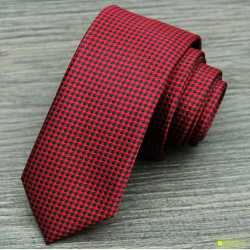 Corbata Slim con diseño - Hombre
