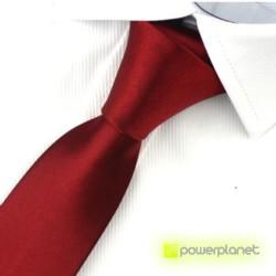 Corbata Slim lisa - Hombre - Ítem1