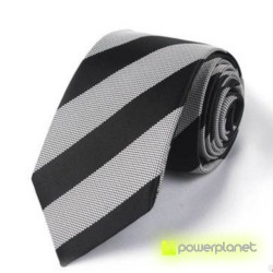 Tie Slim a listras - Homen - Item1