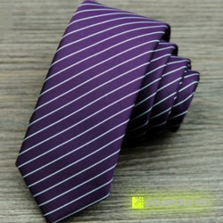 Tie Slim a listras - Homen - Item2