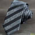 Tie Slim stripes - Men