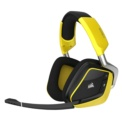 Corsair Void Pro Gaming RGB 7.1 Wireless Premium Special Edition Yellow - black and yellow color