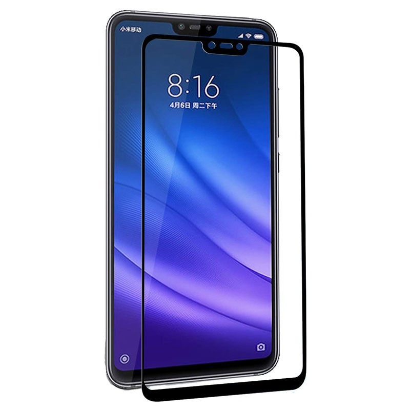 Xiaomi Mi 8 Lite Full Screen 3D Tempered Glass Screen Protector