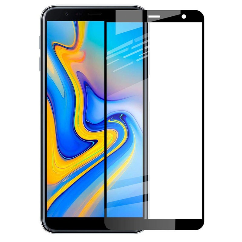 Protector de cristal templado Full Screen 3D para Samsung Galaxy J6 Plus 2018