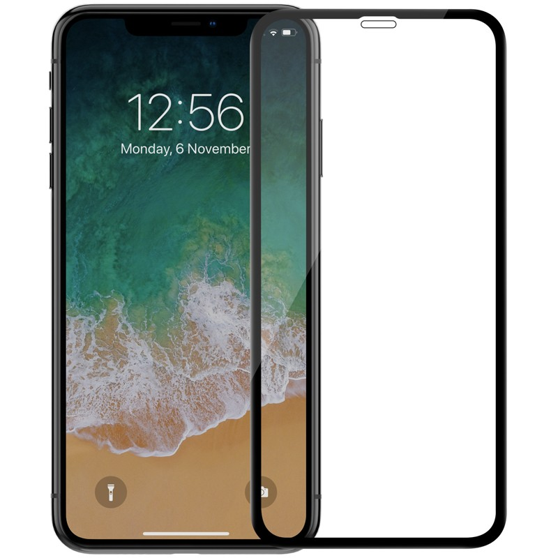 Buy Iphone Xs Max 3d Cp Tempered Glass Screen Protector Powerplanetonline
