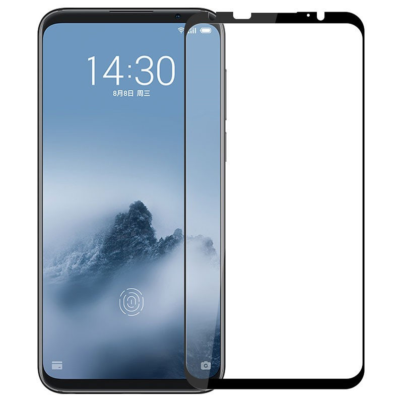 Protector de ecrã de vidro temperado Full Screen para Meizu 16th