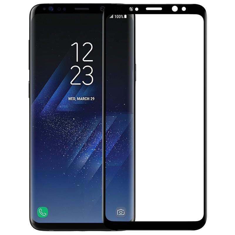 Protector de pantalla de cristal templado 3D CP+ Max de Nillkin para Samsung Galaxy S9 Plus