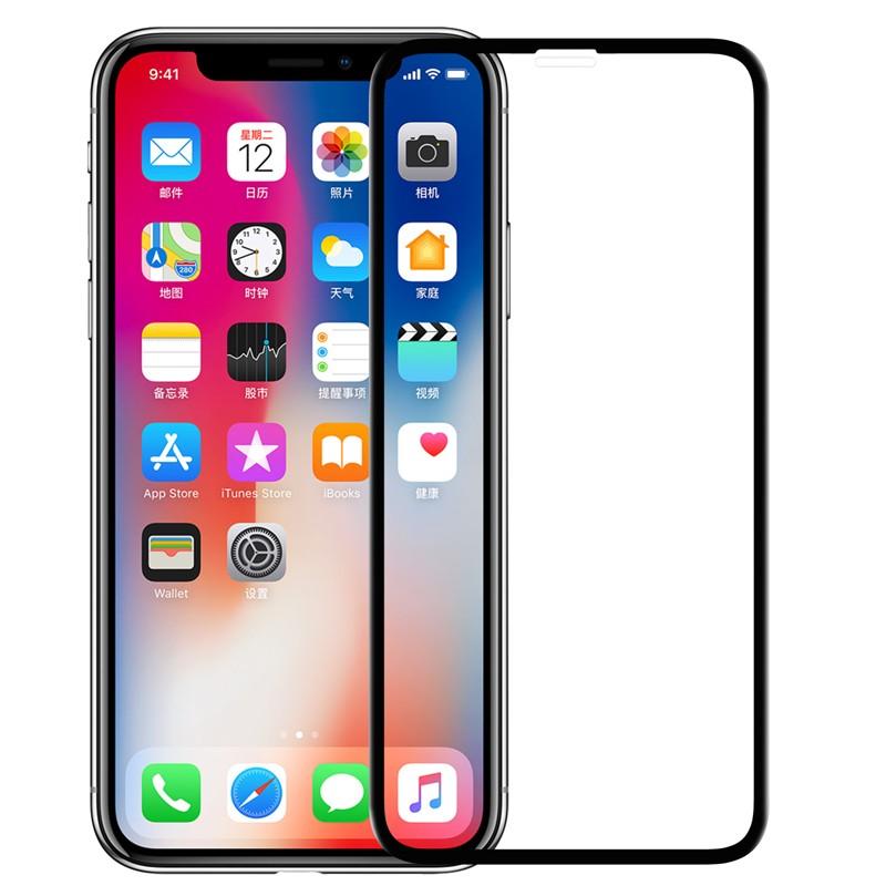 9c2e07836f3 Protector de pantalla de cristal templado 3D CP+ Max de Nillkin para Iphone  X