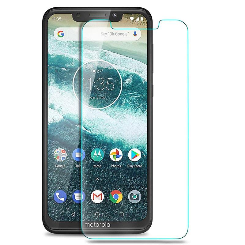 Protector de ecrã de vidro temperado para Motorola Moto One e P30 Play