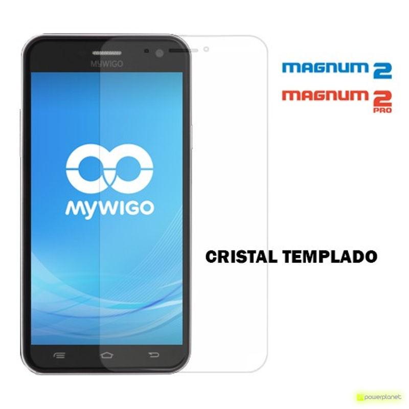 Protector de Cristal Templado para MyWigo Magnum 2 y Magnum 2 Pro
