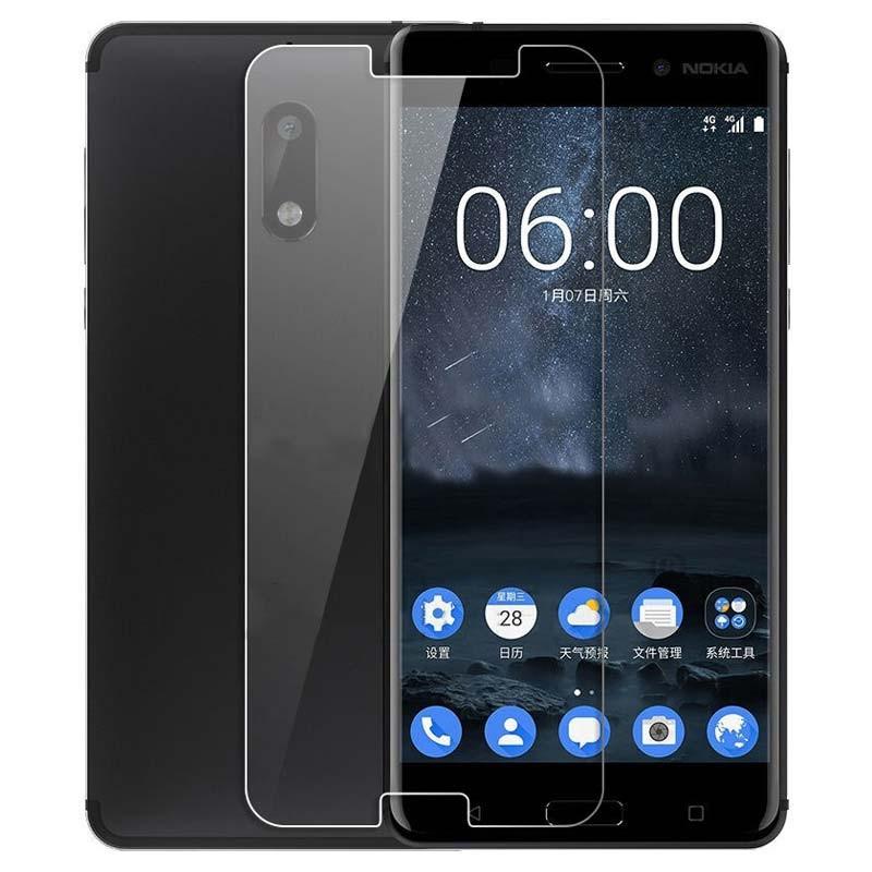Protector de cristal templado para Nokia 8