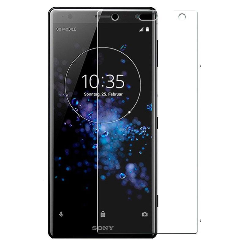 Protector de ecrã de vidro temperado para Sony Xperia XZ2 Compact