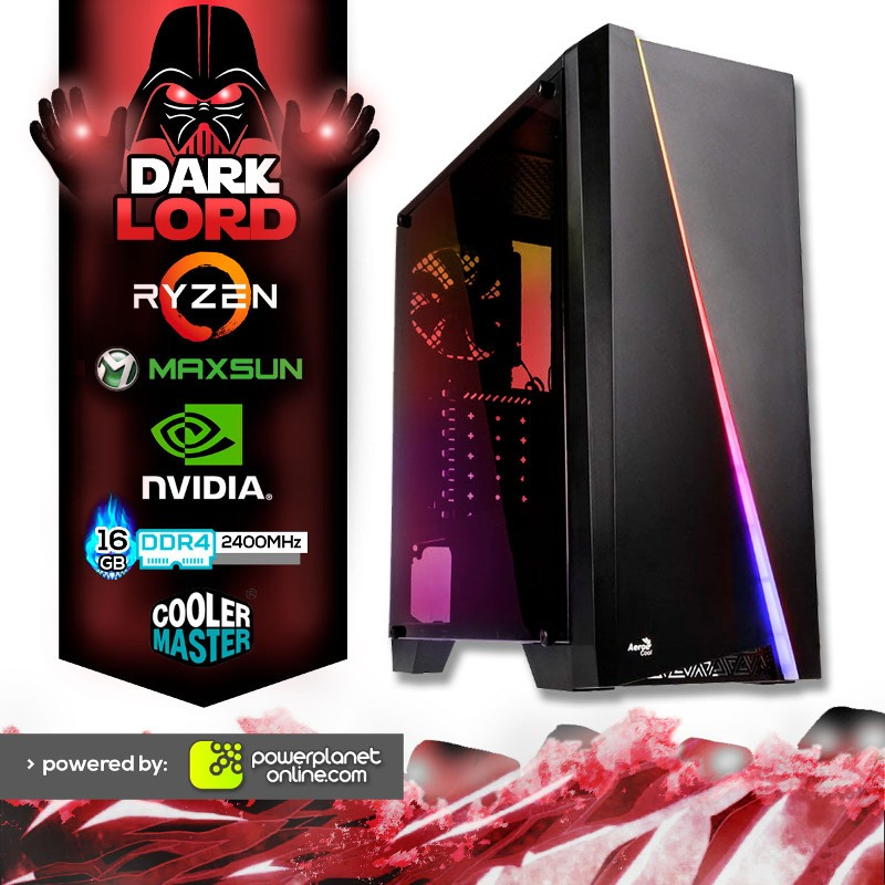 PC Gaming Ryzen 7 2700X/16GB/512SSD+2TB/GTX1070 Ti 8GB/Dark Lord