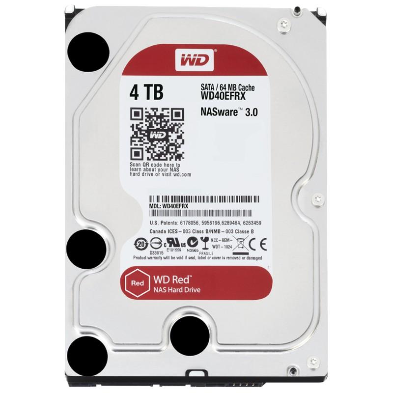 Disco duro 4TB WD Red SATA3 NAS 3,5