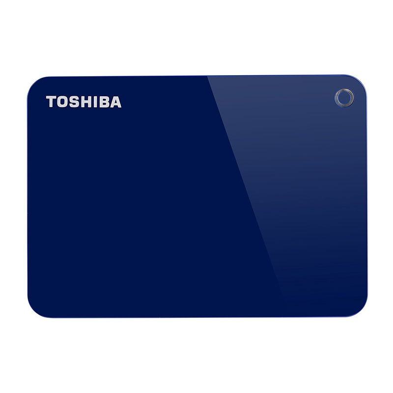 Disco duro externo 1TB Toshiba Canvio Advance 2.5 USB 3.0 Blue