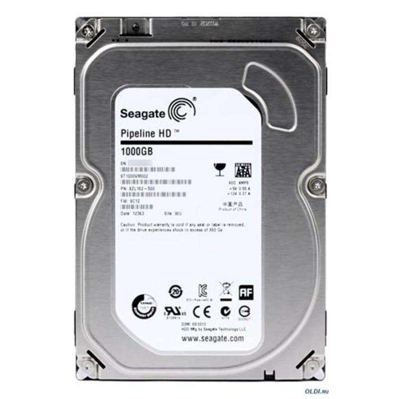 """Disco Rigido Seagate Pipeline HD 1TB SATA 3.5"""""""