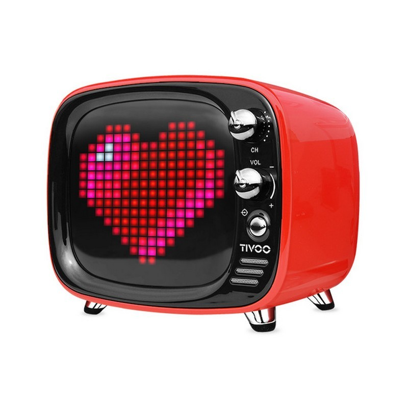 Divoom Tivoo Tv Altavoz Bluetooth Despertador Pixel