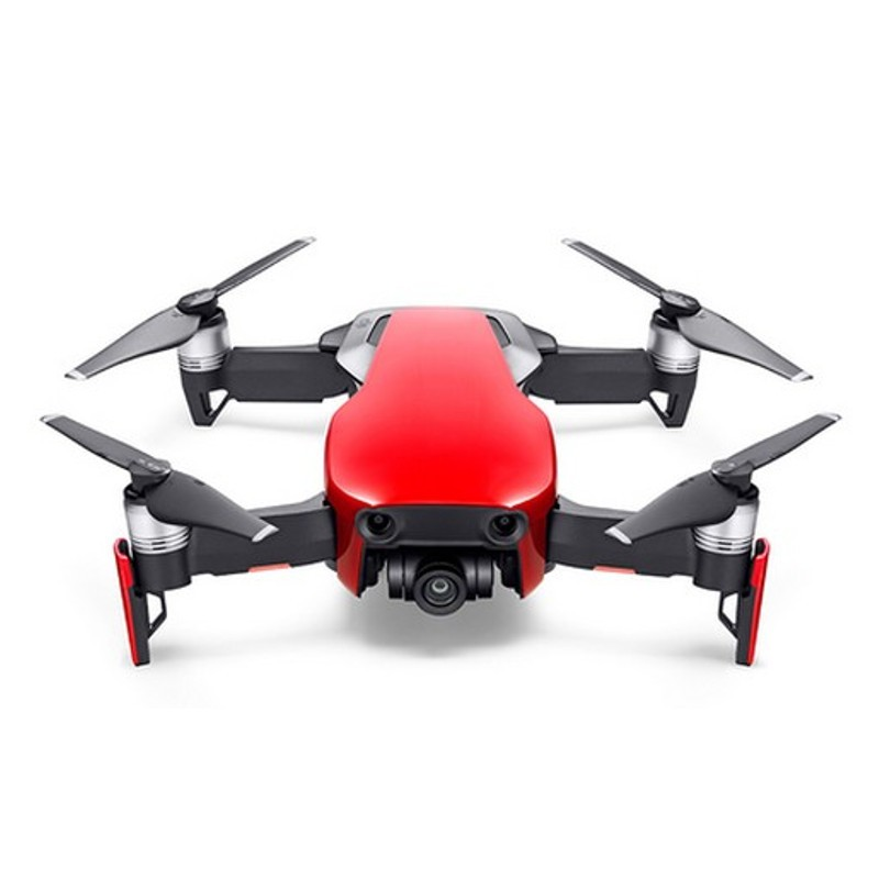 DJI Mavic Air Fly More Combo WiFi FPV Rojo Flame - Color rojo
