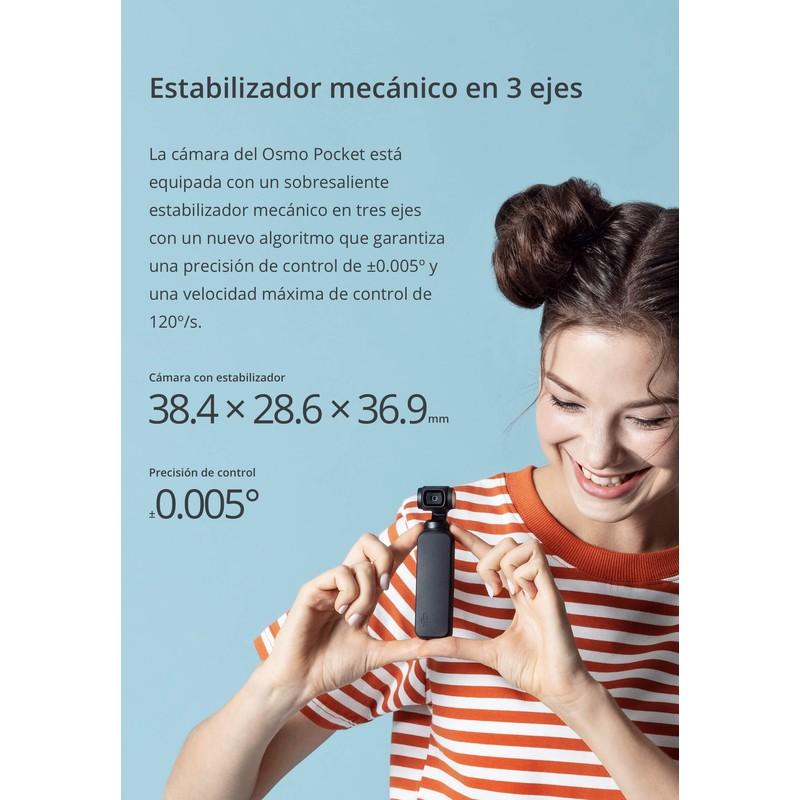 DJI Osmo Pocket 4K - Videocámara Gimbal