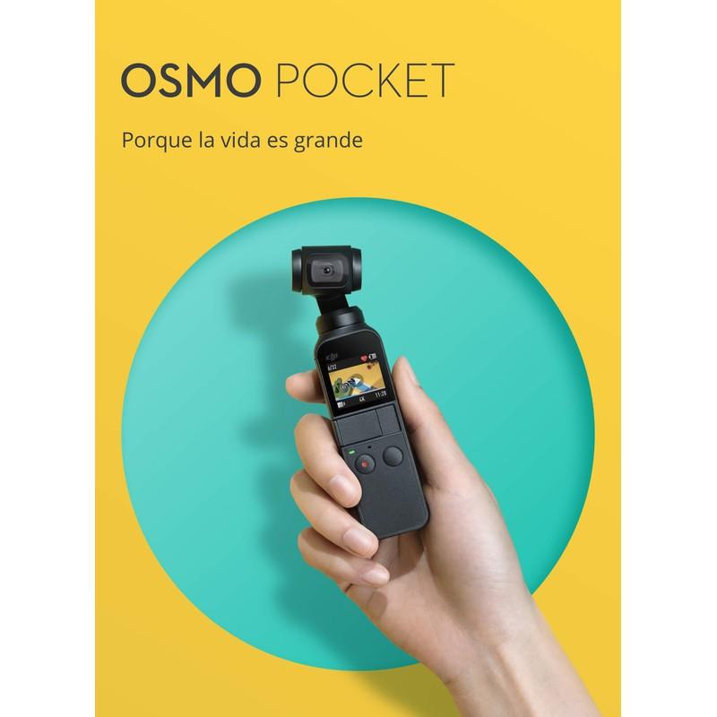 Con Osmo Pocket podrás compartir tus vivencias en cualquier lugar del mundo y al momento
