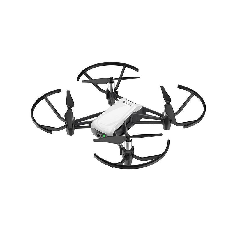 DJI Ryze Tello FPV - Cor preto e branco - Dron Acessível - Programação Scratch - Autonomia 13 Minutos - Vídeo 720P - Estabilização Eletrônica de Imagem - WiFi - Função FPV - Compartilhe Capturas de Tela nas Redes Sociais - Duas Antenas