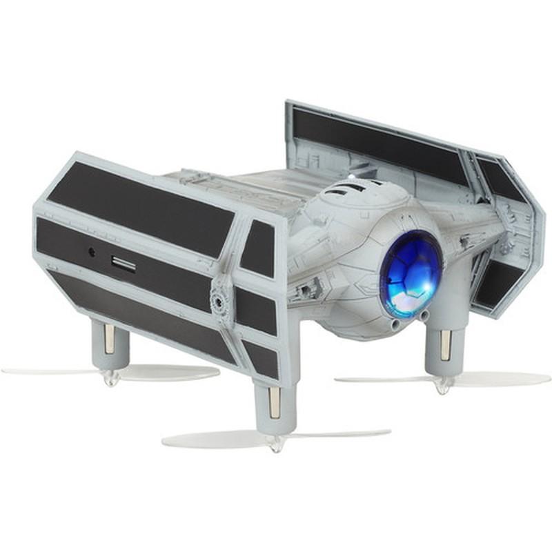 Dron Propel Star Wars TIE Advanced X1 - Edição Limitada - Lançadeira com Iluminação LED - Voltas 360º - Receptor 2.4GHz - Design TIE Advanced X1 - Aplicação - Caixa com BSO - Recreação de Batalha - Lutas de até 12 Pilotos - Bluetooth