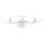 Drone Syma X5UW-D - Cor branca - Retransmissão FPV - Sem cabeça - Câmera HD - Foto 300W - Câmera 90º - Até 70 metros - Uma chave Take-Off / Landing - Controle por meio de APP - Drone de iniciação - Item1